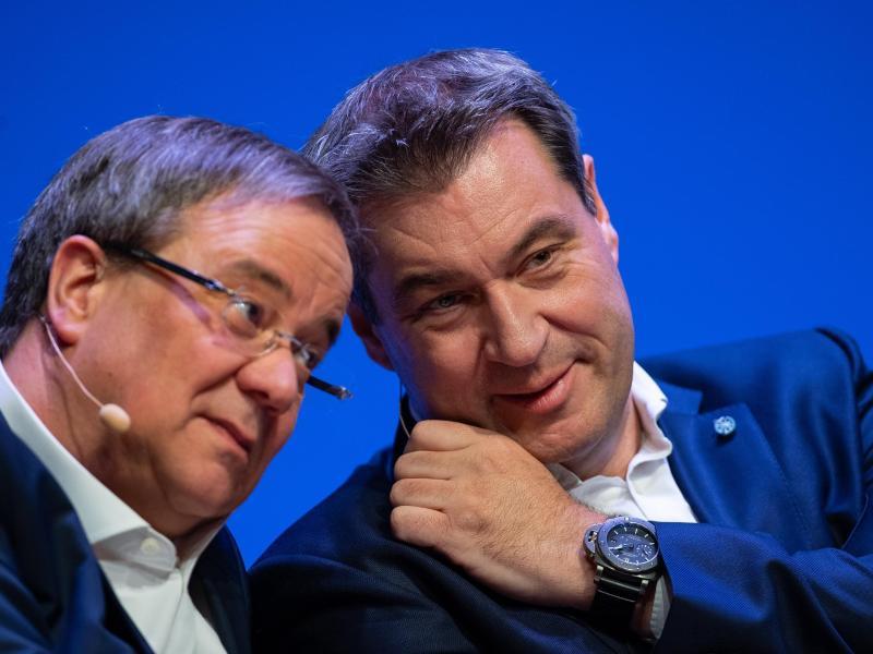 Söder vs. Laschet: Spaltet die K-Frage die Union?