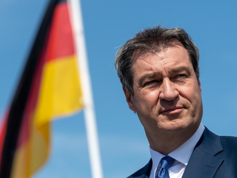 """Söder: """"Die Union hat beste Chancen, das Kanzleramt wieder zu erobern"""""""