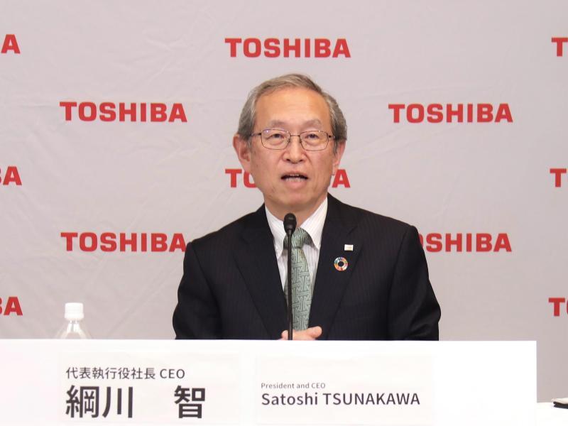 Nach Übernahmeangebot: Toshiba-Chef tritt ab