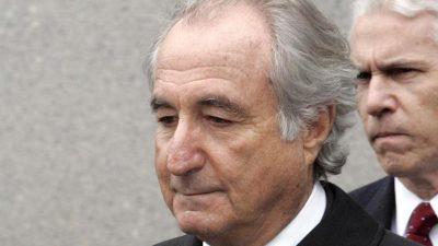 Finanzbetrüger Bernie Madoff mit 82 Jahren im Gefängnis gestorben