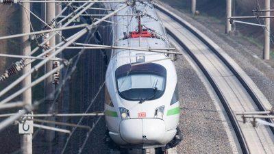 Weniger Inlandsflüge angestrebt: Jeder 5. Passagier soll auf Bahn umsteigen