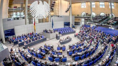 Bundestag beschließt Nachtragshaushalt und Rekordverschuldung von 240 Milliarden Euro
