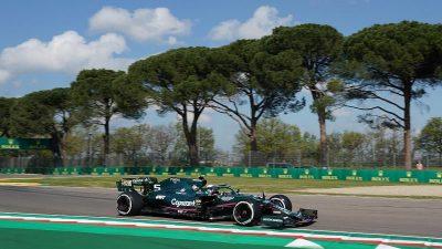 Vettel sieht «Schritt nach vorne» – Mercedes-Duo vorn