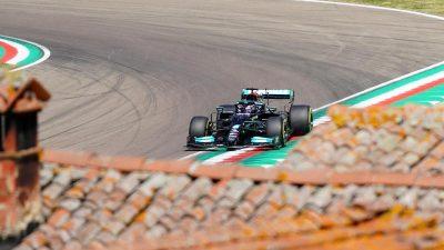 Mercedes-Duo jagt Imola-Pole – Vettel erkennt Fortschritte
