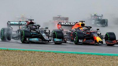 Verstappen gewinnt Imola-Chaos – Vettel mit Defekt