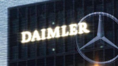 Chipkrise: Daimler schickt Tausende in Kurzarbeit