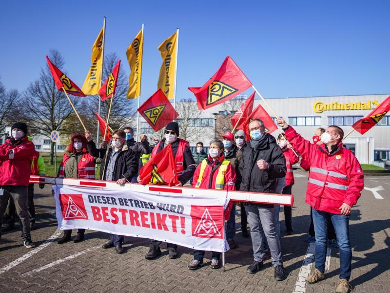 IG Metall erreicht Gnadenfrist für Conti-Werk Karben