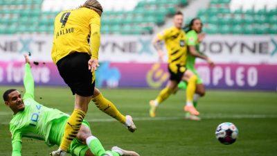 2:0 in Wolfsburg: BVB wieder nah an Champions-League-Platz