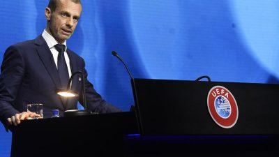 UEFA-Chef zu Fans bei EM: «Behörden vor Ort entscheiden»