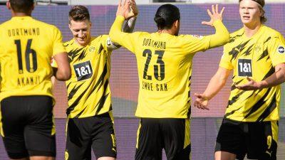 BVB winkt dank Haarland doch noch die Champions League