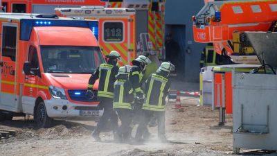 Schwere Explosion in Hamburg – Gebäude eingestürzt – ein Toter
