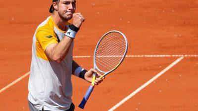 Struff legt vor: Jetzt winkt das Halbfinale gegen Zverev