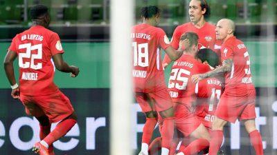 RB Leipzig kämpft sich ins Finale – Was wird aus Kohfeldt?