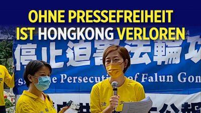 Pressefreiheit gefährdet: Falun Gong in Hongkong medialer Verleumdungskampagne ausgesetzt