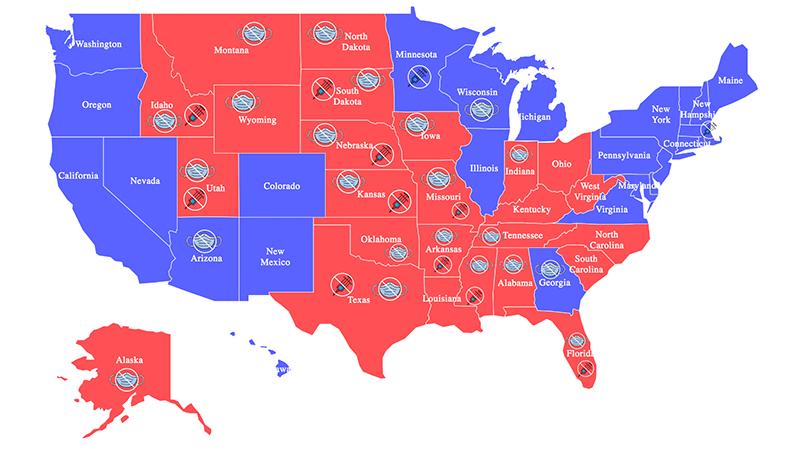 Brisant: In 22 US-Bundesstaaten gibt es keinerlei Corona-Maßnahmen – und alles ist in Ordnung