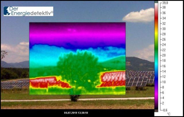 Energiewende: Solarzellen wandeln Sonnenenergie vor allem in Wärme um.
