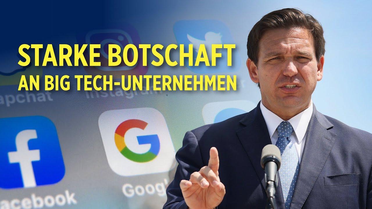 Zensurverbot: Florida verabschiedet ein neues Gesetz gegen Big Tech-Konzerne