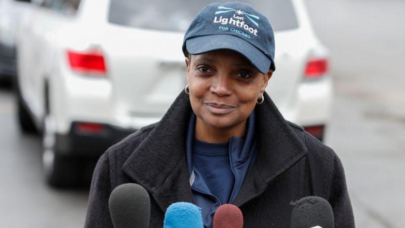 Chicagos Bürgermeisterin gibt nur nicht-weißen Journalisten Interviews