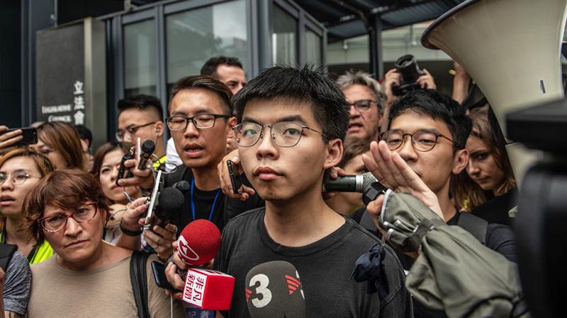 Hongkonger Aktivist Wong wegen Tiananmen-Mahnwache zu zehn Monaten Haft verurteilt