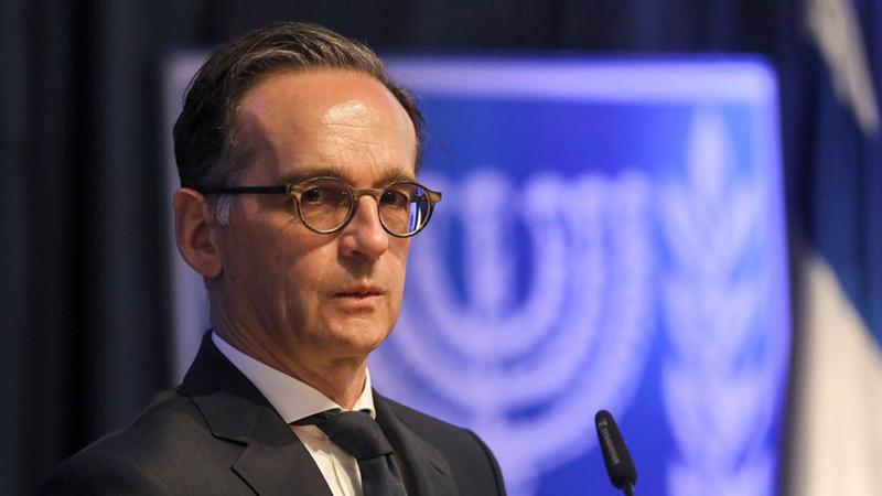 Maas bekräftigt Recht Israels auf Selbstverteidigung