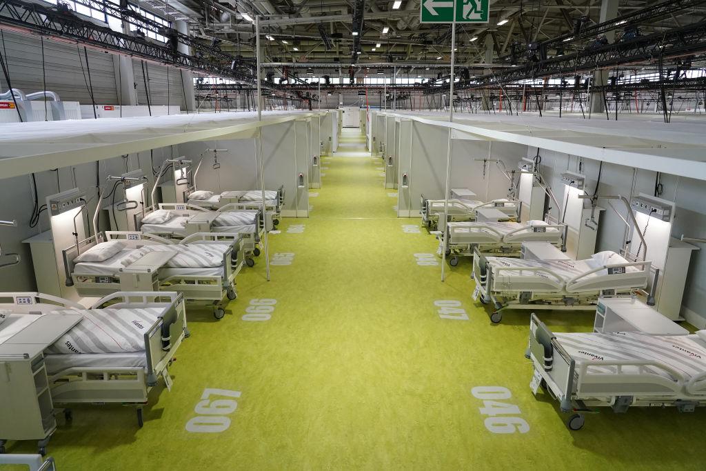 Kein einziger Patient: Corona-Notfall-Krankenhaus mit 27 Millionen Euro Betriebskosten
