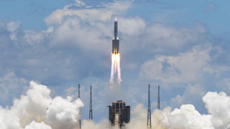 Pentagon besorgt wegen unkontrolliertem Absturz chinesischer Weltraum-Rakete
