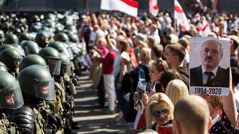 Berlin hält 2,9 Millionen Euro für Unterstützung belarussischer Journalisten bereit