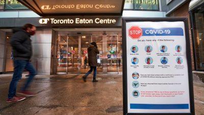 """Wissenschaftler: Lockdowns könnten Kanadas """"größtes politisches Versagen in der Geschichte"""" sein"""
