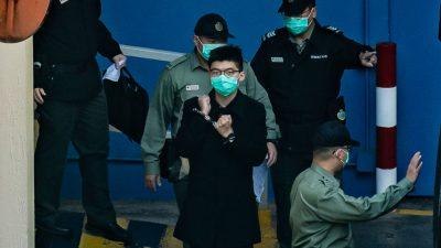 USA fordern Freilassung inhaftierter Hongkonger Aktivisten nach Tiananmen-Mahnwache