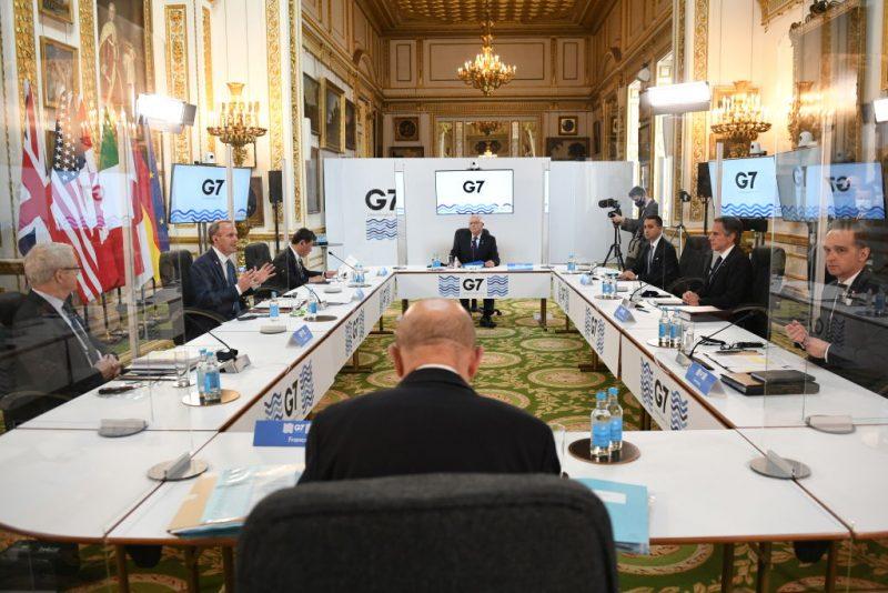 G7-Treffen: Westen blickt mit Sorge auf wirtschaftlichen und militärischen Einfluss Pekings