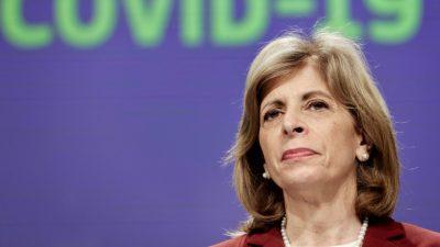 Korruptionsskandal: EU-Kommissarin von Impfstoffherstellern bestochen?