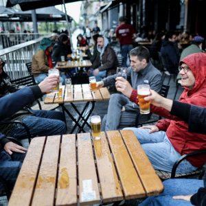 Bars und Cafés in Belgien öffnen Terrassen wieder