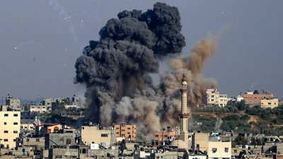 Kampfjets bombardierten Terrorziele: Israel setzt Luftangriffe im Gazastreifen fort