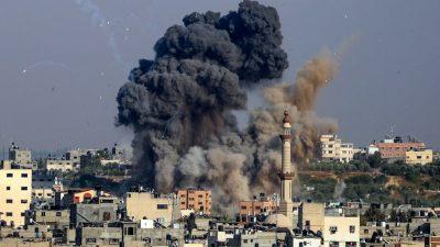 Heftige Unruhen in israelischen Städten – Erneut Beschuss aus dem Gazastreifen