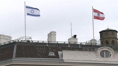 """Österreich hisst aus """"Solidarität"""" die israelische Flagge – weitere Tote im Westjordanland"""