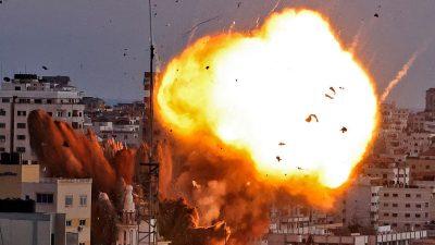 Palästinenser setzen Raketenangriffe fort – Israel bombardiert Hamas-Wohnhäuser und Tunnelsystem