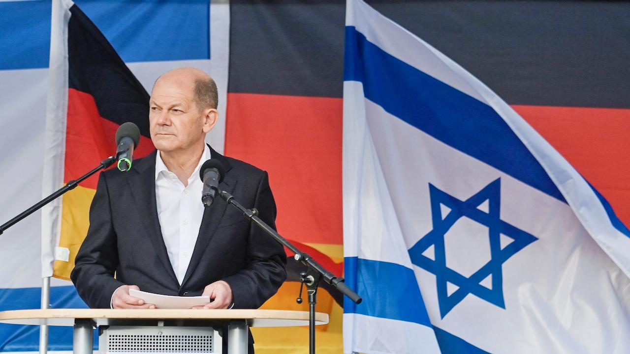"""Bundespolitiker bei Solidaritätsdemo: """"Wer Israel angreift, bekommt es mit Deutschland zu tun"""""""