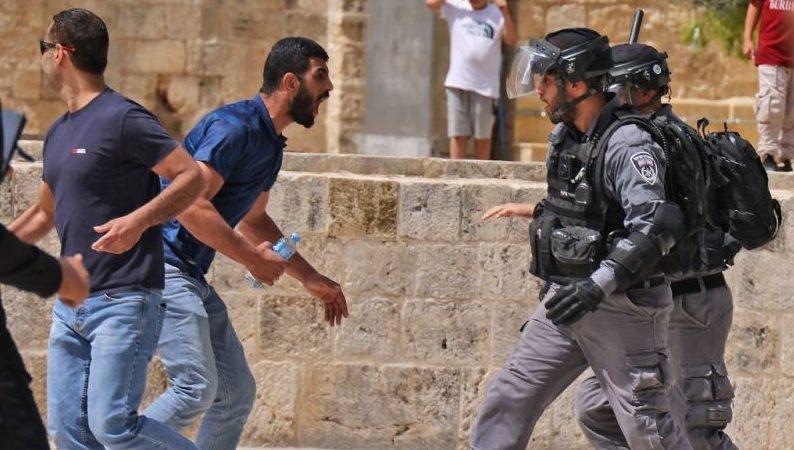 Israel: Erneut Zusammenstöße am Tempelberg