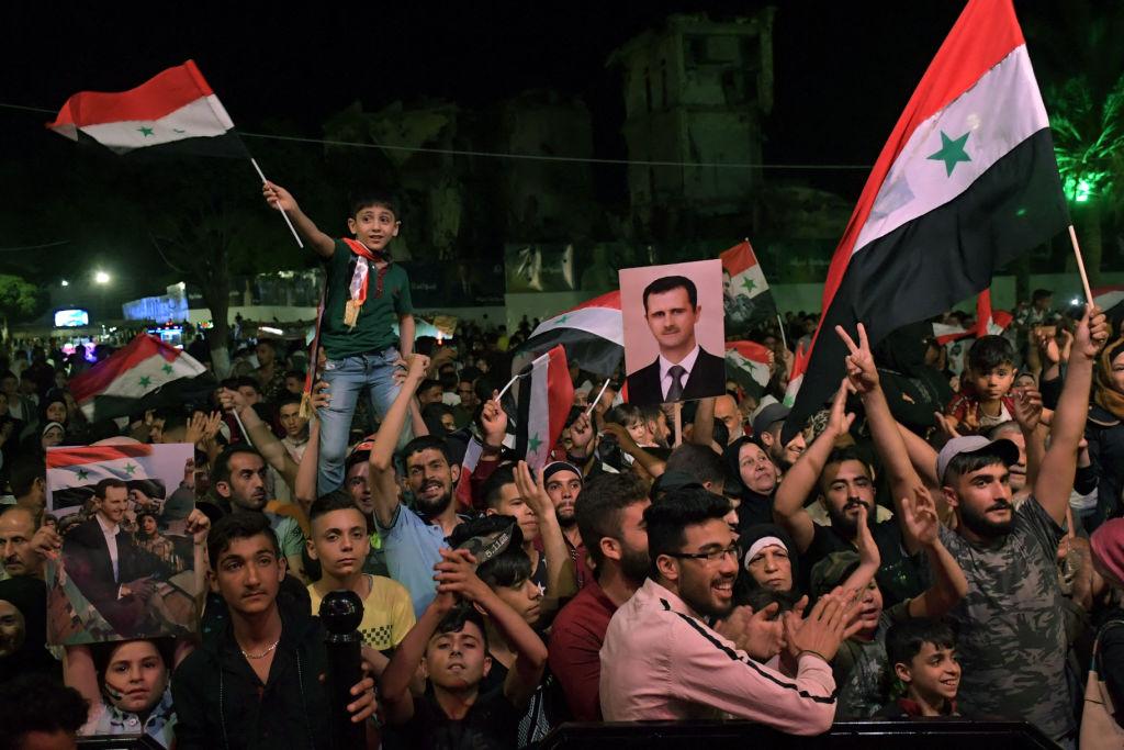 Umstrittene Wahl: Syriens Machthaber Assad als Präsident wiedergewählt
