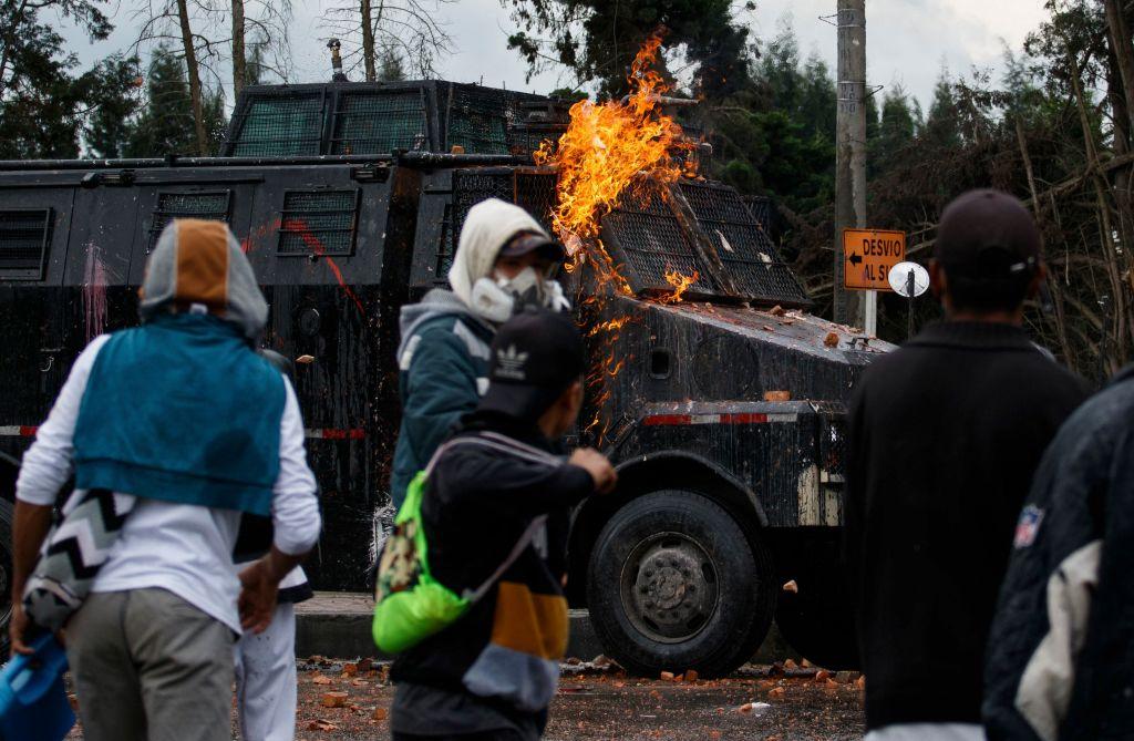 Erneut Gewalt bei Protesten in Kolumbien – Bundesregierung gibt Reisewarnung heraus