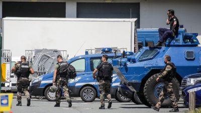 Französische Polizei nimmt nach Großfahndung schwer bewaffneten Ex-Soldaten fest