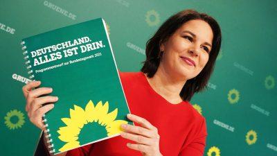 """Grünen-Politiker wollen """"Deutschland"""" aus Programmslogan streichen"""