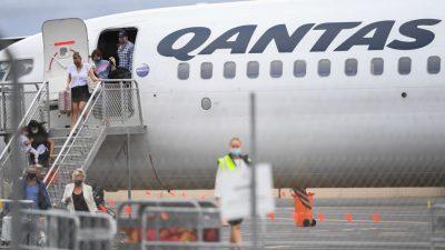 Australische Airline plant Belohnungen für Covid-Geimpfte