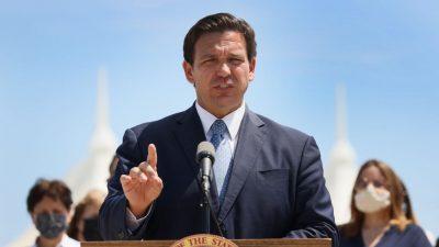 Floridas Gouverneur DeSantis setzt auf Impfung – verbietet aber den Impfpass