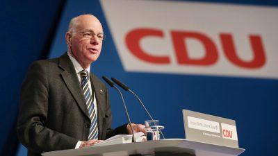 CDU-Politiker Lammert: Bundesverfassungsgericht ist zum politischen Akteur geworden