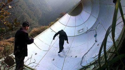 Pentagon beobachtet unkontrolliert fliegende chinesische Weltraumrakete