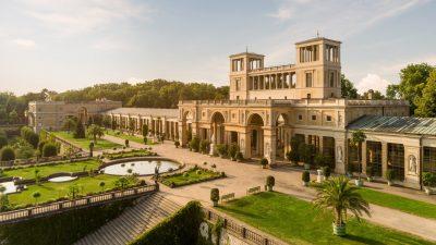 Randalierer von Potsdamer Park Sanssouci verstirbt nach Sprung vom Dach