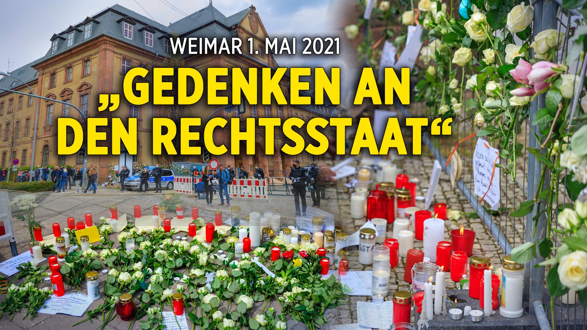 """Weimar: Grund- und Menschenrechte """"beerdigt"""""""