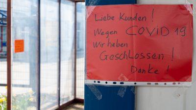 """Kommt eine Pleitewelle? In Deutschland gibt es bis zu 800.000 """"Zombieunternehmen"""""""