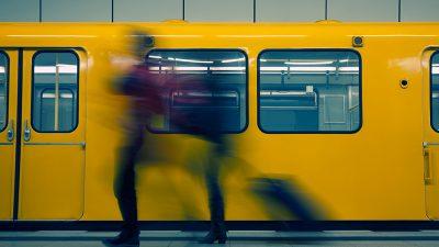 Vier Verletzte bei Messerangriff in Berliner U-Bahnhof